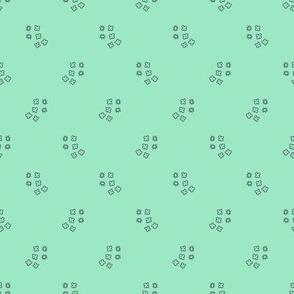 Geo Blossom (mint)