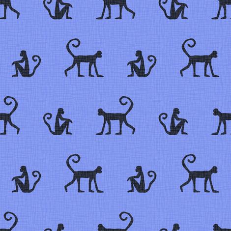 Hey Hey (periwinkle) fabric by seesawboomerang on Spoonflower - custom fabric