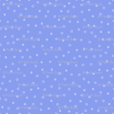 Scatter Blossom (periwinkle)