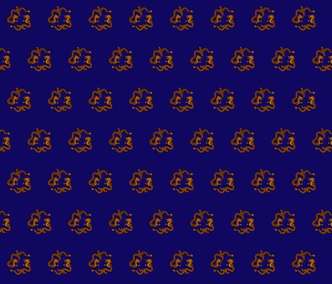 Rrdouble_dragon_gold_on_blue_fabric_shop_preview