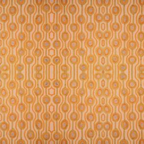 Orange Retro Circle