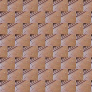 Vintage Mosaic in Chocolate and Caramel Ripple - Extra Small Scale (Ref. 4530)