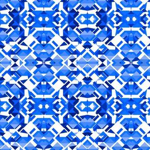 Ice blue nordic retro