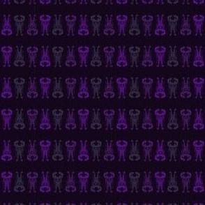 Purple Alien repeat