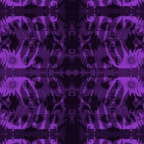 Fern leaf in purple