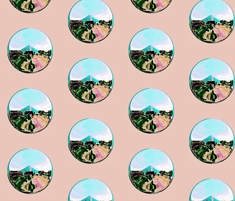 costaricabubble fabric by glorybart on Spoonflower - custom fabric