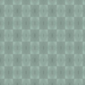 Abstract diamond in teal