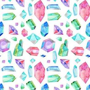 Watercolour Gems