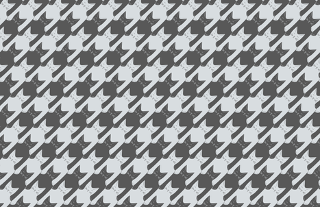 cats-tooth in grey and light blue fabric by eleventy-five on Spoonflower - custom fabric