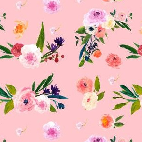 Floral Escape in Pink