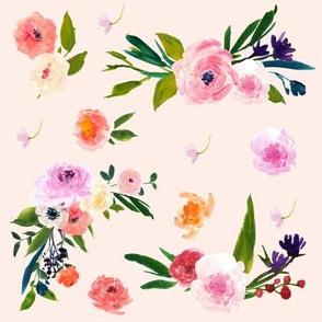 Floral Escape in Pastel