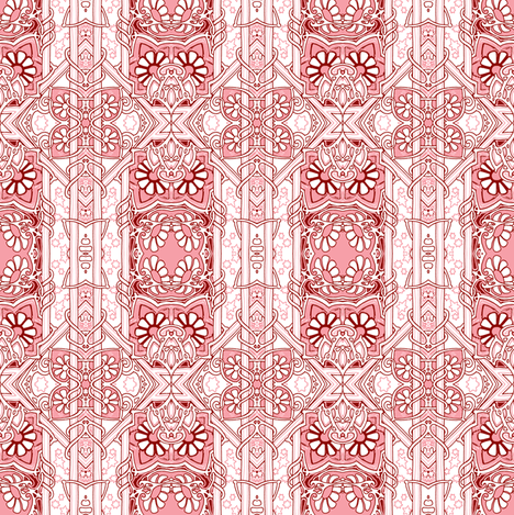 Take Me Back to 1888 fabric by edsel2084 on Spoonflower - custom fabric