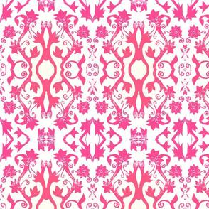 Floral Stamp - Pink