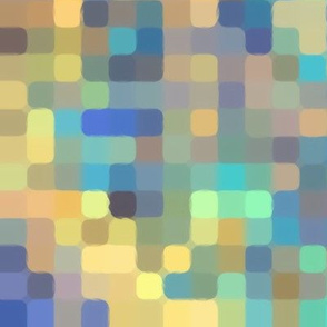 Bright abstract pixel pattern