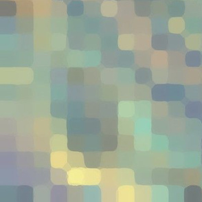 Soft Pastel Rounded Pixels