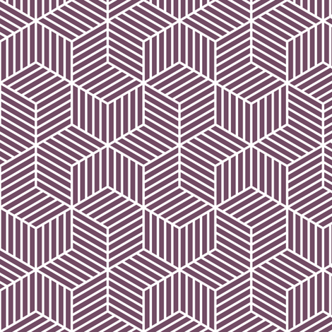 04954963 : chevron 6 bars : purple grape aubergine fabric by sef on Spoonflower - custom fabric