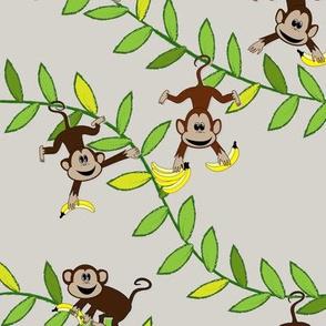 Monkey, monkey (grey)