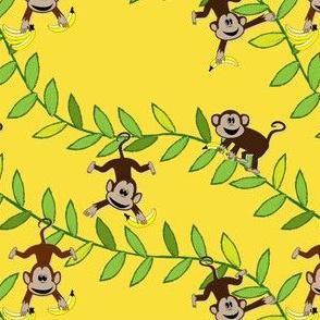 Monkey, monkey (yellow)