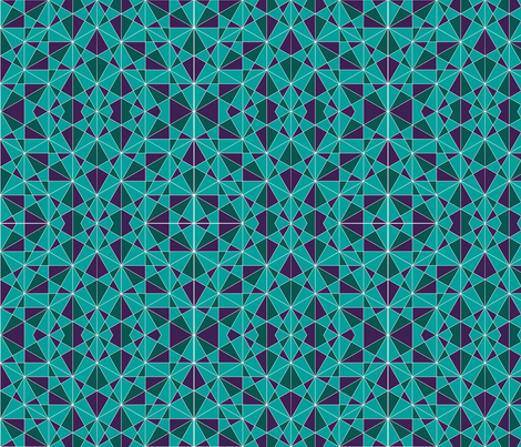 maroccan 80's tiles fabric by arrpdesign on Spoonflower - custom fabric