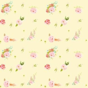 Mini Sweet Florals in Yellow