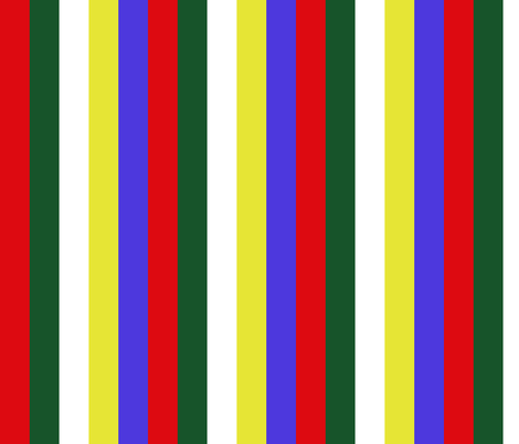 "Small 1.2"" Stripe Order of the Eastern Star fabric by elemental-design on Spoonflower - custom fabric"