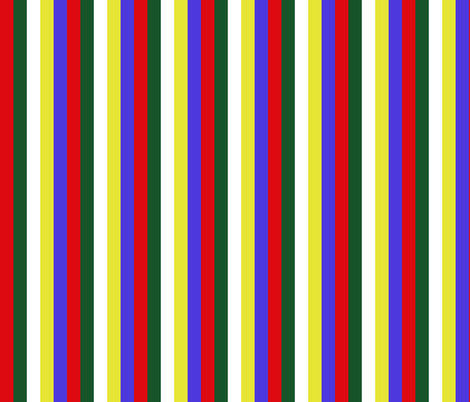 "Mini 0.6"" Stripe Order of the Eastern Star fabric by elemental-design on Spoonflower - custom fabric"