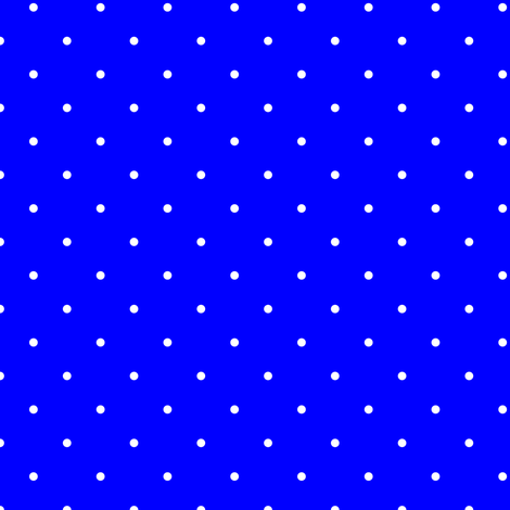 Royal Blue and White Mini Polka Dots fabric by paper_and_frill on Spoonflower - custom fabric