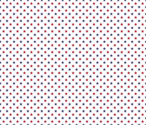 USA Flag Red and Flag Blue Stars on Flag White fabric by paper_and_frill on Spoonflower - custom fabric