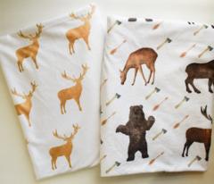 Deer Bear Moose with Arrows