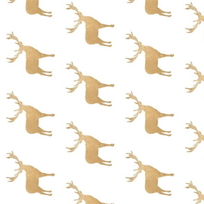 Gold Deer Stag