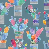Watercolour_cacti_-_steel_blue_shop_thumb