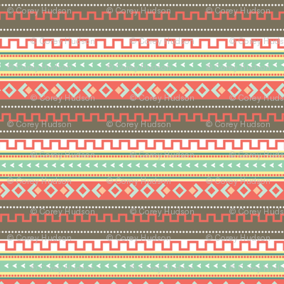 Multi Abstract Tribal Print