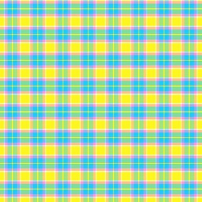 Spring Pastels Colorway - Plaid #1 Small