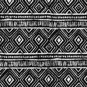 Mud Cloth // Black