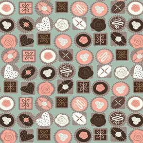 chocolates mint