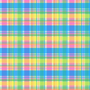 Spring Pastels Colorway - Plaid #2 Small