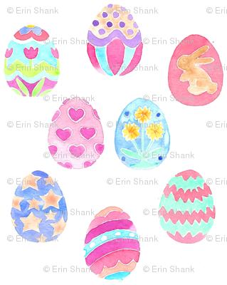 easter eggs decorative