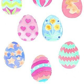 easter eggs decorative