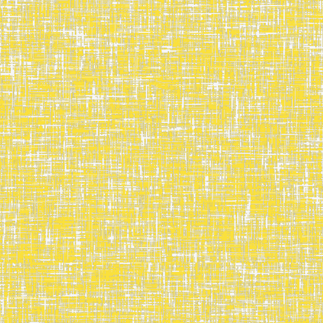 Butter + gray + white tweedy linen-weave by Su_G fabric by su_g on Spoonflower - custom fabric