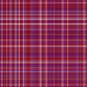 Berry Red Plaid 2