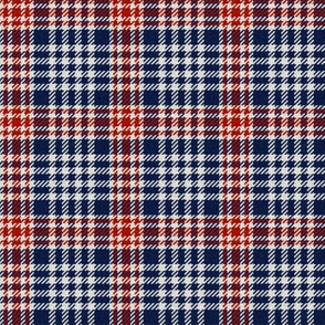 Red, White and Blue Plaid