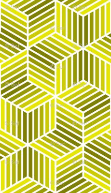 04958037 : chevron 6 bars : acid-yellow olive