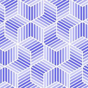 04958044 : chevron 6 bars : lavender blue
