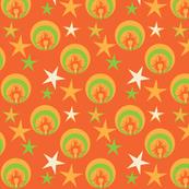 Glam rock orange