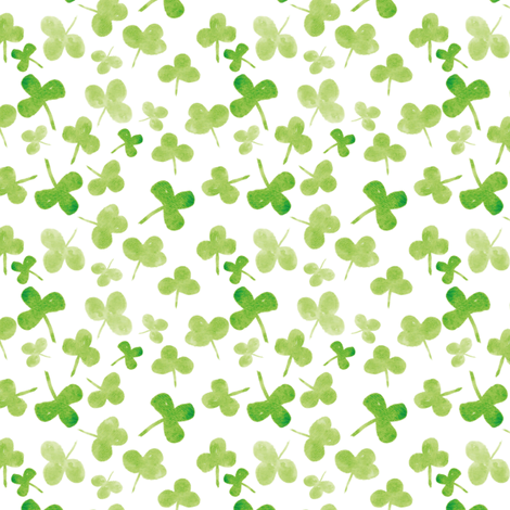 clover fabric by ruth_robson on Spoonflower - custom fabric