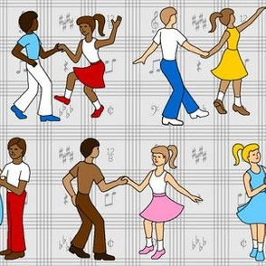04958774 : © rock'n'roll jump'n'jive lindyhop jitterbug swing dance party