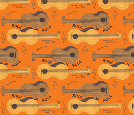 Rock N Roll fabric by timaroo on Spoonflower - custom fabric