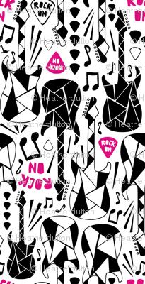 Rock On Girl - Guitars Music