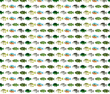 7 Sunfish Pattern fabric by combatfish on Spoonflower - custom fabric