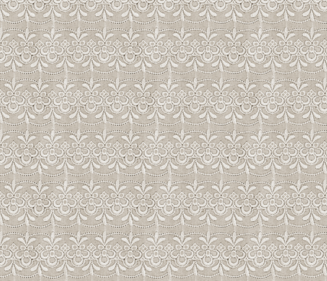 Antique lace #2 fabric by hannafate on Spoonflower - custom fabric